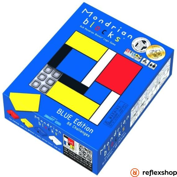Rubik Mondrian logikai játék, kék