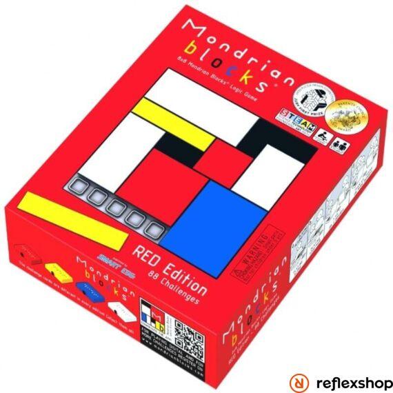 Rubik Mondrian logikai játék, piros