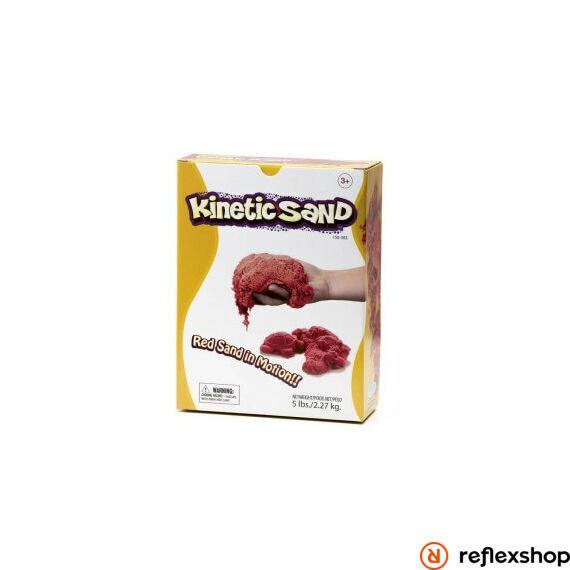 Relevant Kinetic Sand - Mozgó homok, piros, 2,27kg