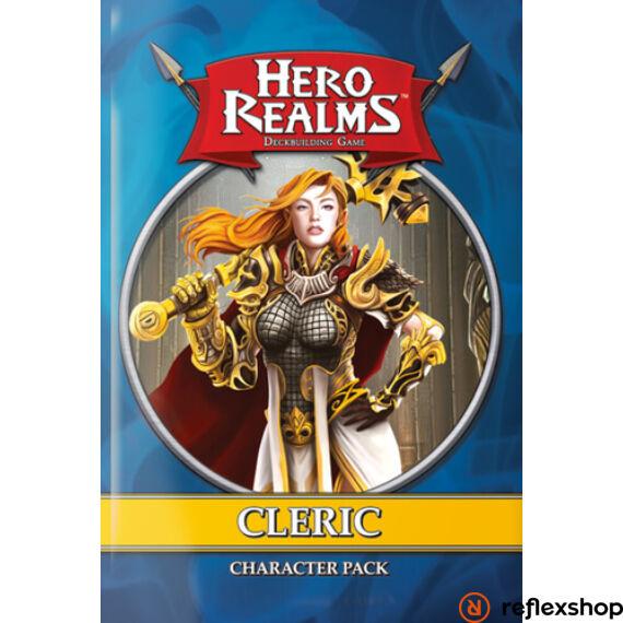 Hero Realms Cleric Pack angol nyelvű kiegészítő