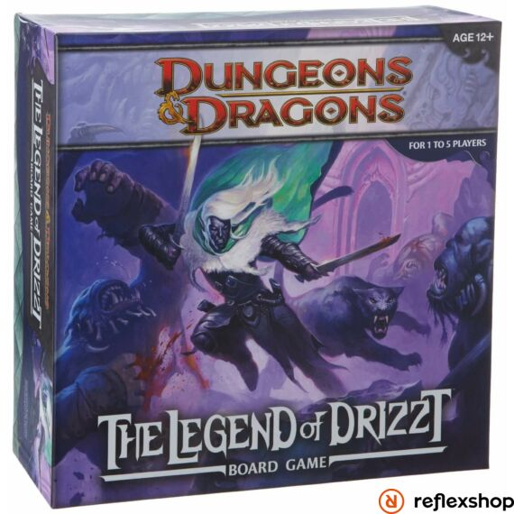 Dungeons and Dragons Legend of Drizzt társasjáték, angol nyelvű