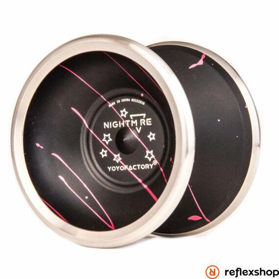 YoYoFactory Nightmare yo-yo pink/fekete