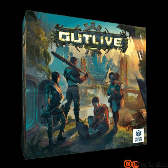 Outlive angol nyelvű társasjáték