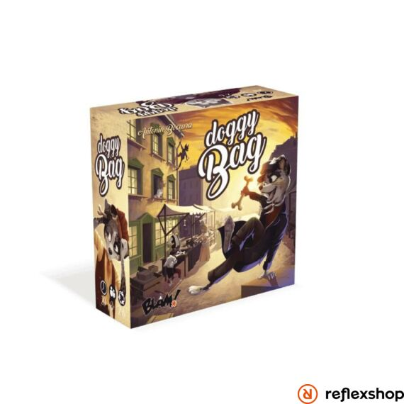 Blackrock Games - Doggy Bag angol nyelvű társasjáték