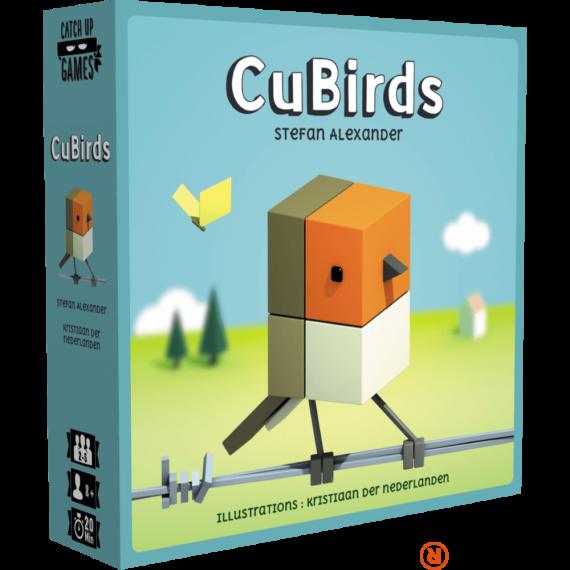 Blackrock Games - Cubirds társasjáték - Reflexshop