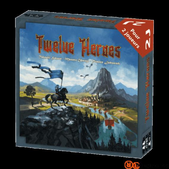 Blackrock Games - Twelve heroes angol nyelvű társasjáték