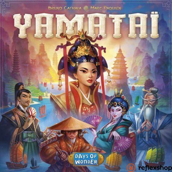 Yamatai társasjáték, angol nyelvű