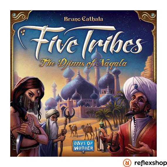 Five tribes angol nyelvű társasjáték