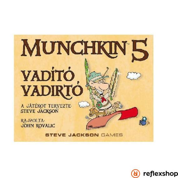 Munchkin 5 társasjáték- Vadító vadirtók