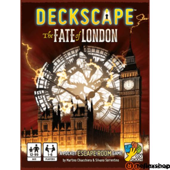 Deckscape - Fate of London angol nyelvű szabadulós társasjáték