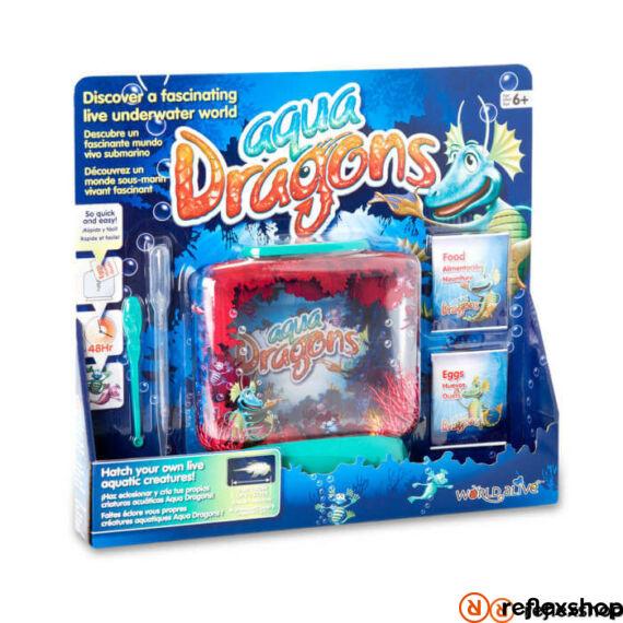 World Alive Aqua Dragons Víz alatti Él?világ díszdobozban