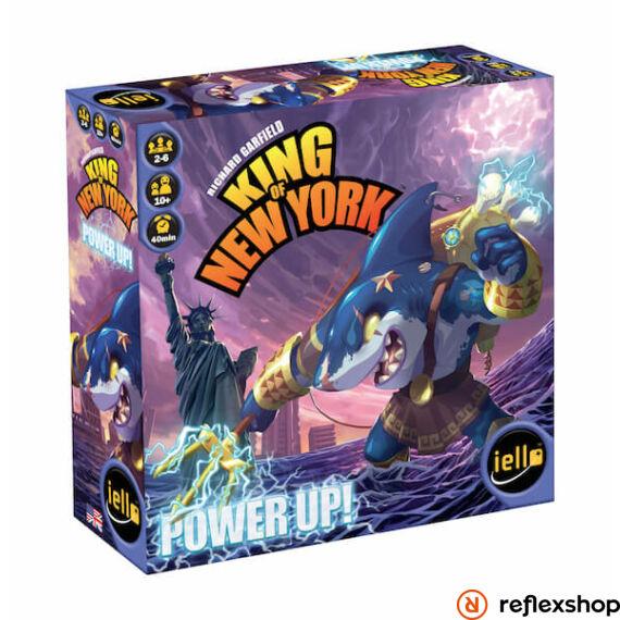 King of New York: Power Up társasjáték, angol nyelvű