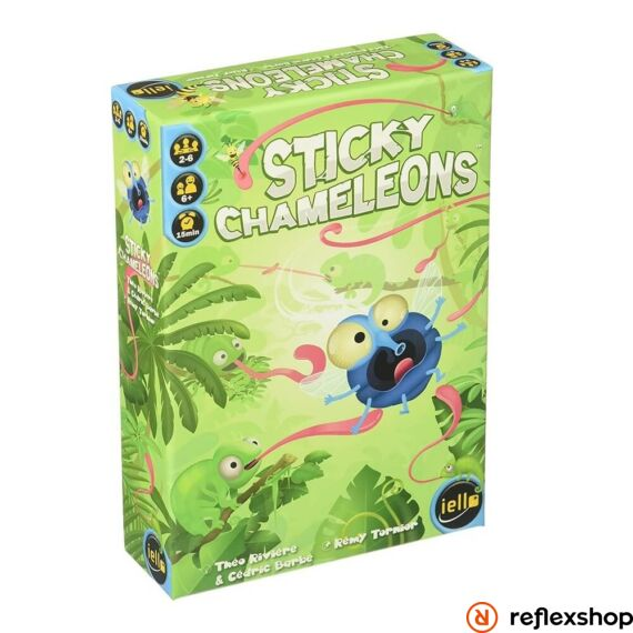 Sticky Chameleons társasjáték, angol