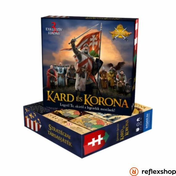 Kard és Korona társasjáték, 3. kiadás   Reflexshop