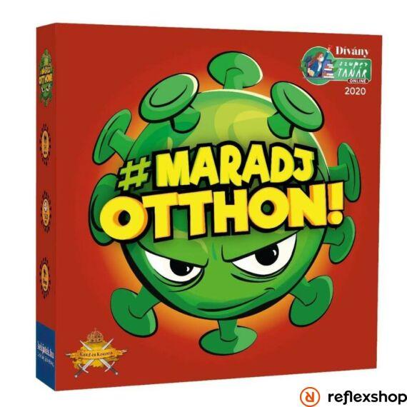 #Maradjotthon társasjáték borító