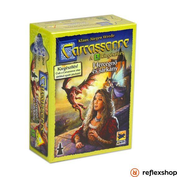 Carcassonne: A Hercegnő és a sárkány kiegészítő