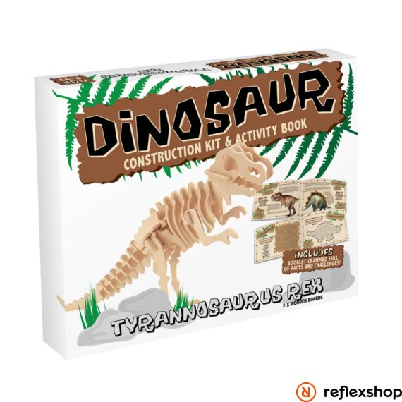 T-Rex fa Professor Puzzle épít? szett közepes