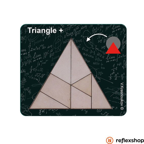 Krasnoukhov Packing Problems - Triangle logikai játék