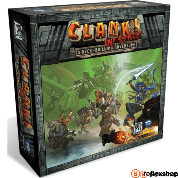 Clank! In! Space! angol nyelvű társasjáték
