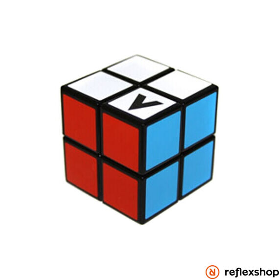 V-Cube 2x2 versenykocka, egyenes, fekete
