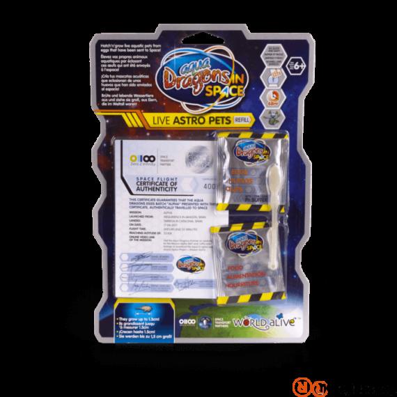 World Alive Aqua Dragons Astro Pets vízalatti élővilág - pete, eledel
