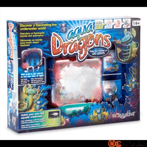 World Alive Aqua Dragons Vízalatti Él?világ - LED Világítással