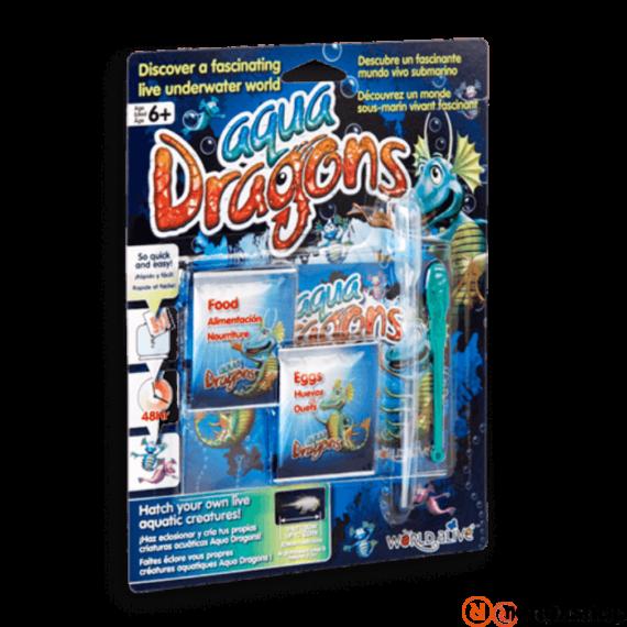 World Alive Aqua Dragons Élőlények -pete eledel