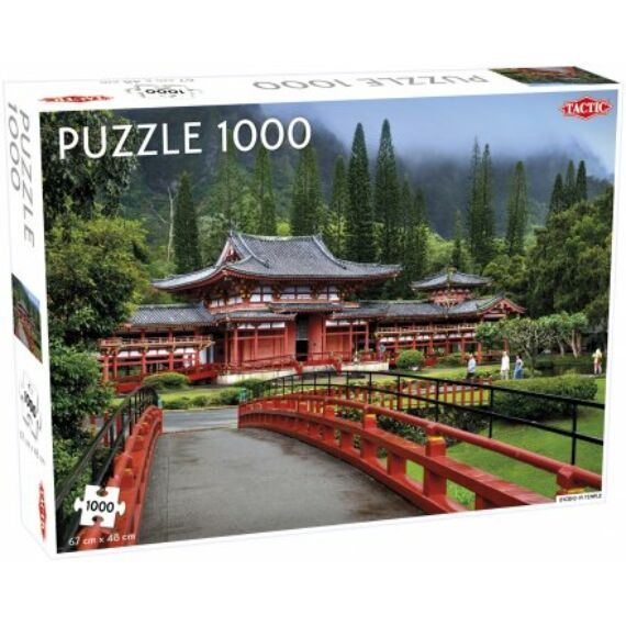 Tactic- Byodo-In templom puzzle 1000 pcs (multi)