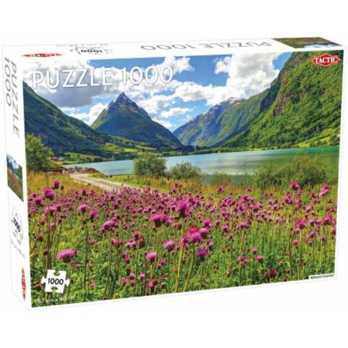 Tactic - Bergsheimsvatnet puzzle 1000 pcs (multi)