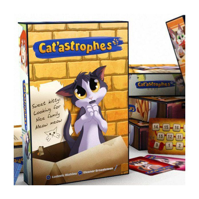 Cat'astrophes társasjáték, angol nyelvű