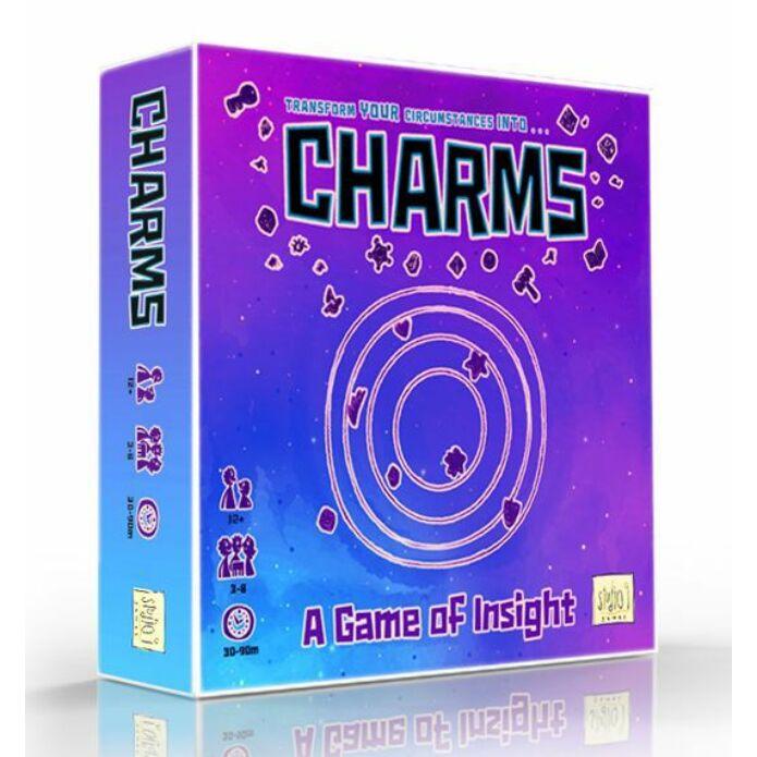 Charms: A Game of Insight társasjáték, angol nyelvű