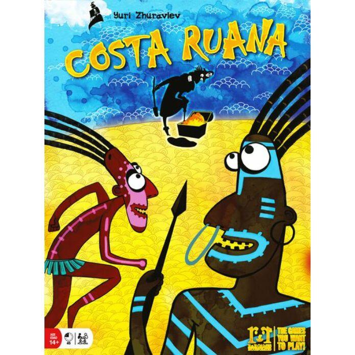 Costa Ruana angol nyelvű társasjáték