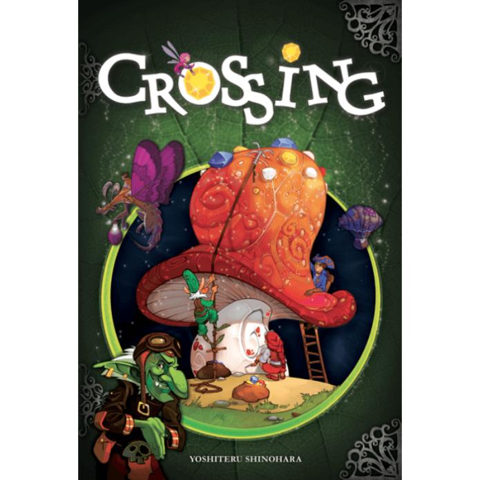 Crossing társasjáték, angol nyelvű