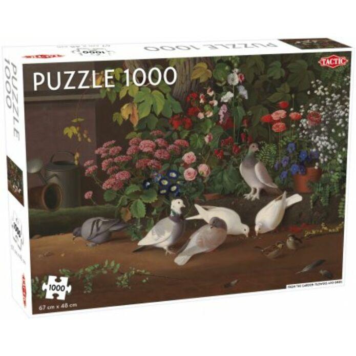 Flowers and Birds' puzzle 1000 pcs (multi)