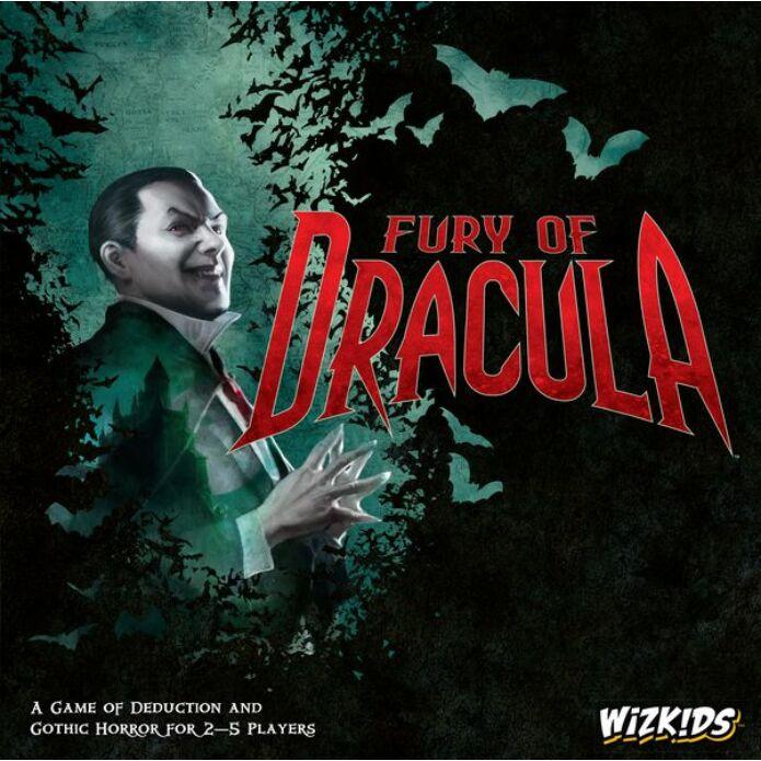 Fury of Dracula társasjáték, 4. kiadás, angol nyelvű