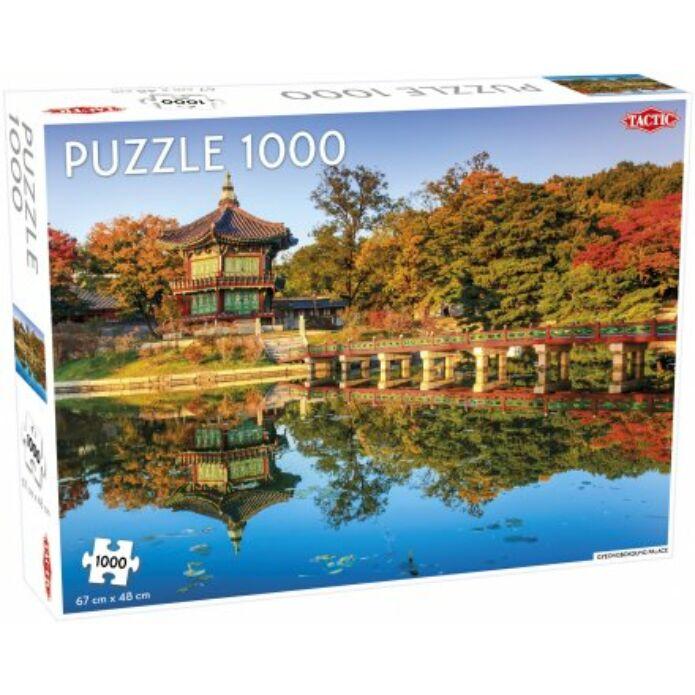Tactic - Gyeongbokgung Palota puzzle 1000 pcs