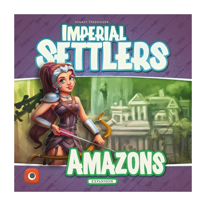 Imperial Settlers társasjáték Amazons kiegészítő, angol nyelvű