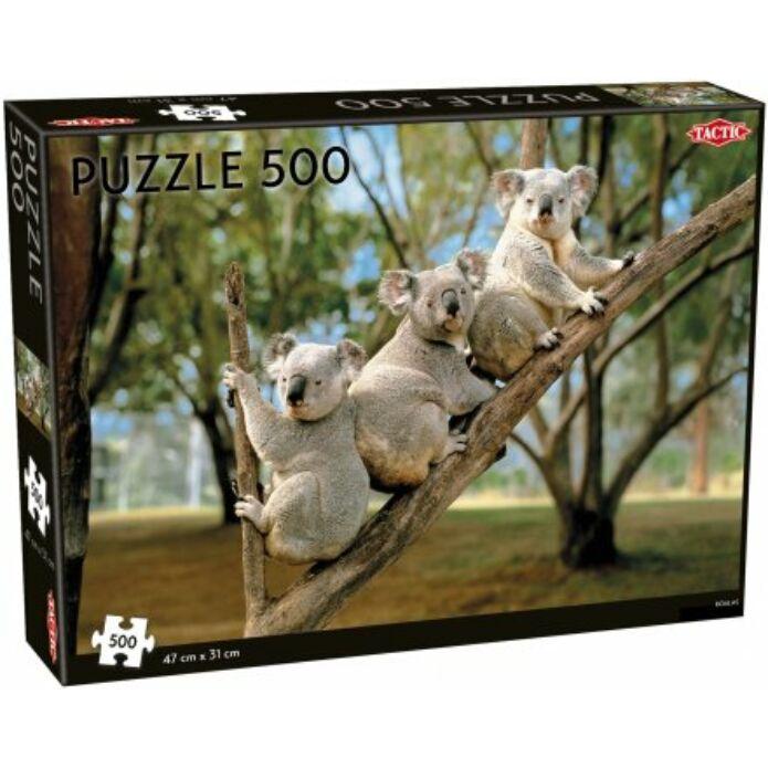 Tactic - Koalák puzzle 500 pcs
