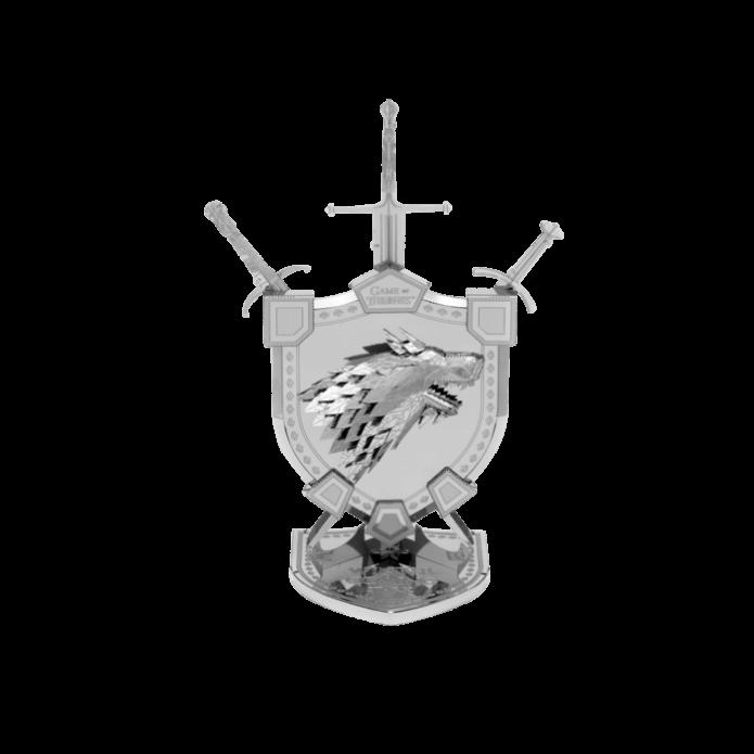 Metal Earth: Iconx GOT : Stark Ház címer