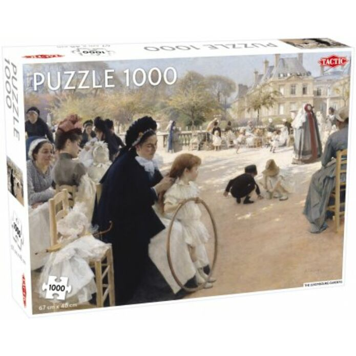 Luxembourg Gardens' puzzle 1000 pcs
