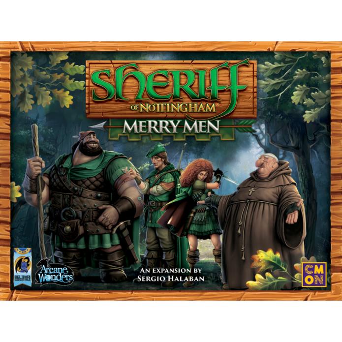 Sheriff of Nottingham társasjáték Merry Men kiegészítő, angol nyelvű