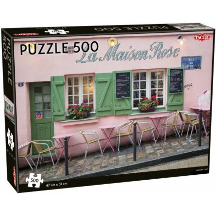 Tactic - Párizsi kávézó puzzle 500 pcs