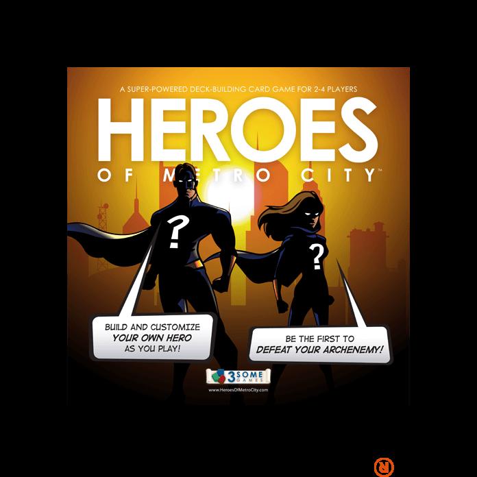 Heroes of Metro City angol nyelvű társasjáték