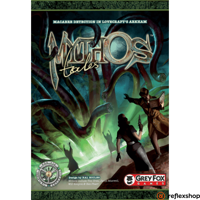 Mythos Tales angol nyelvű társasjáték