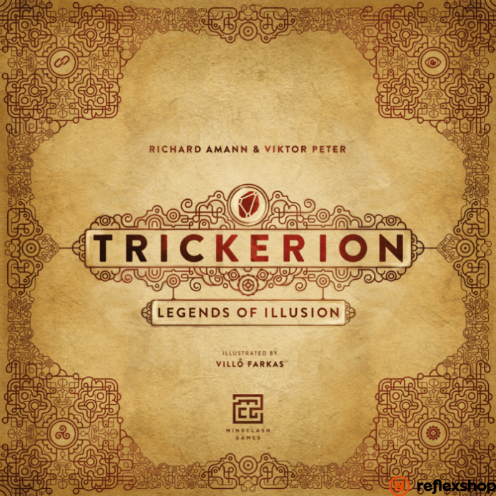 Trickerion társasjáték, angol nyelvű
