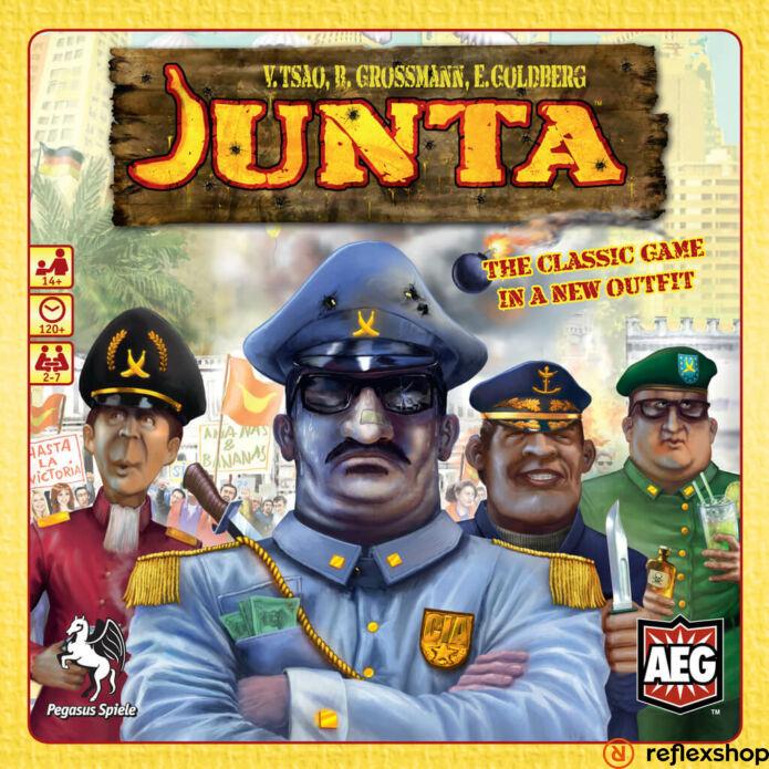 Junta angol nyelvű társasjáték