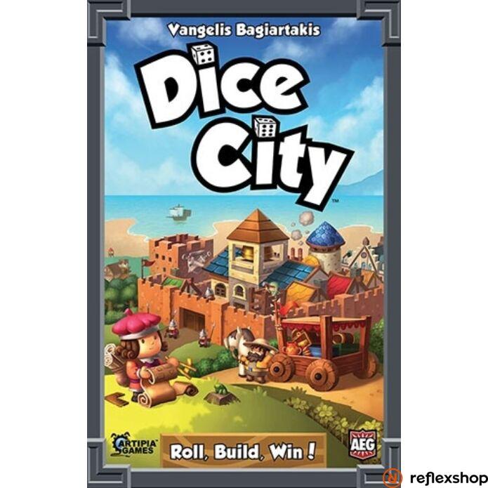 Dice City társasjáték, angol nyelvű