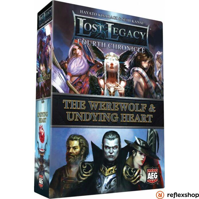 Lost Legacy Werewolf & Undying Heart angol nyelvű társasjáték