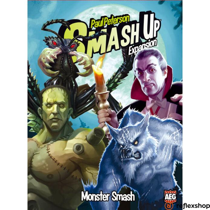 Smash up! Monster Smash angol nyelvű társasjáték