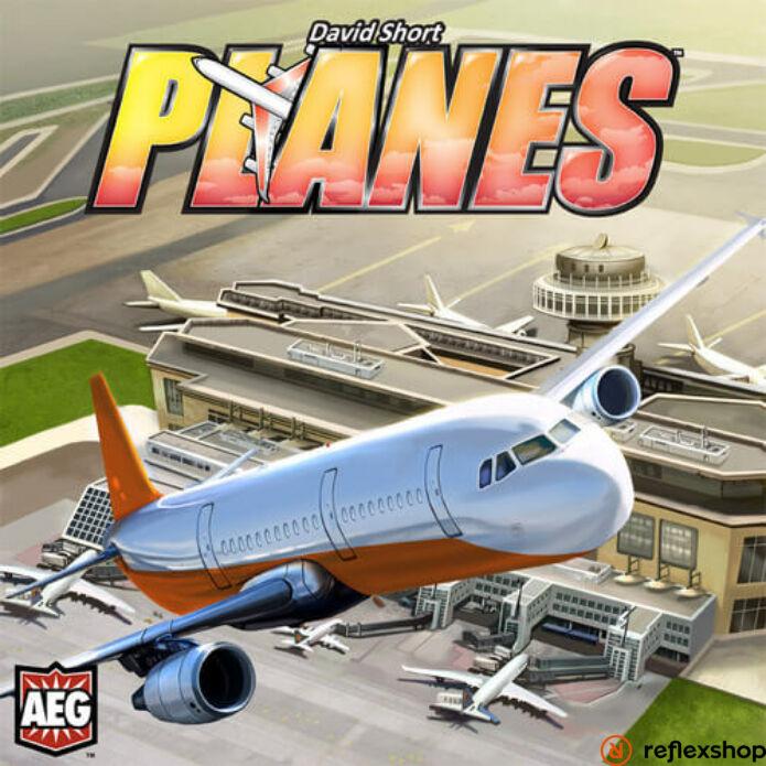 Planes társasjáték, angol nyelvű